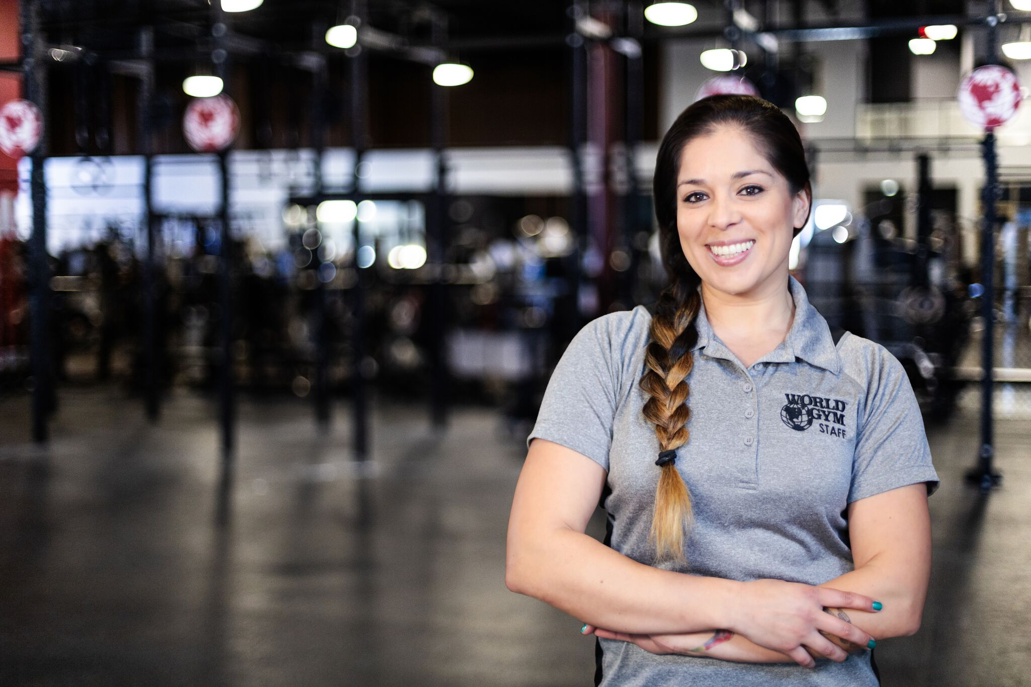 Janelle Perez, World Gym Oxnard
