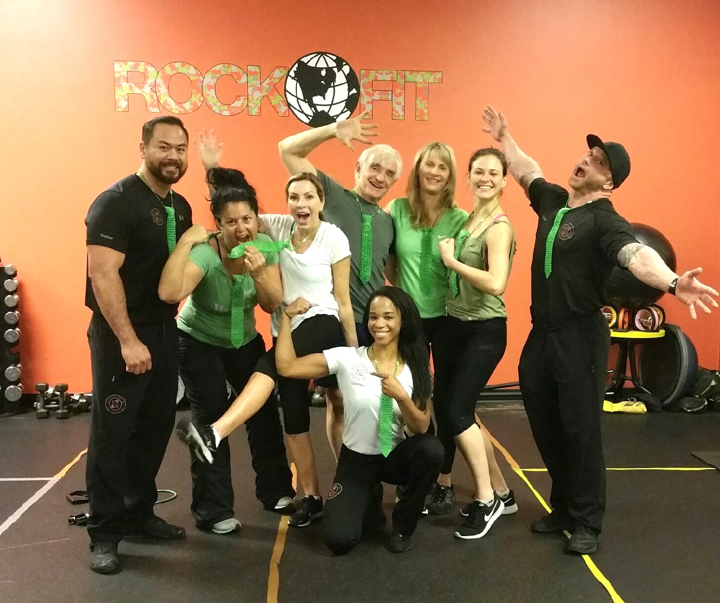Rock Fit at World Gym Palm Desert