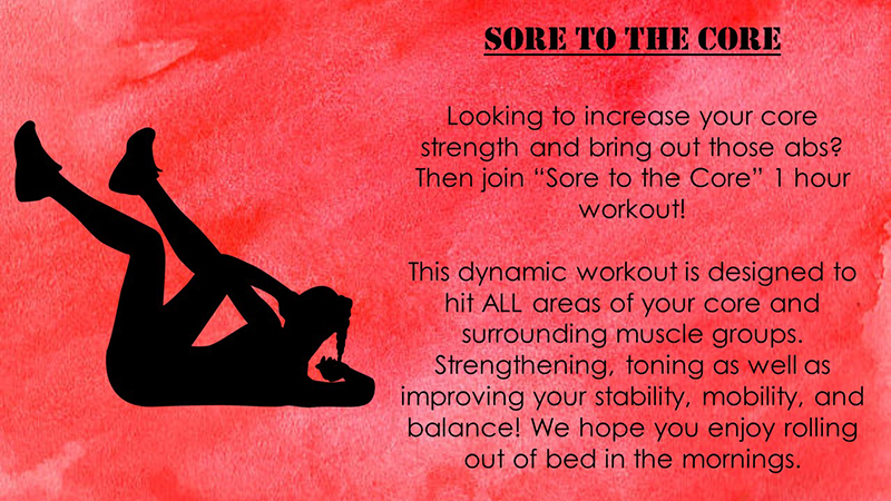 Sore to the Core